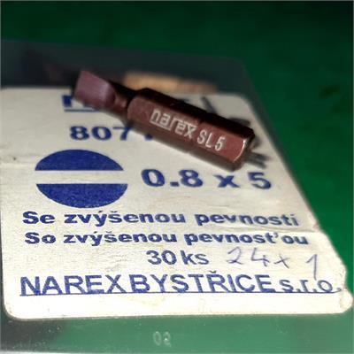 NAREX 807102 bit 0,8x5
