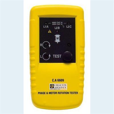 C.A 6609 - Zkoušečka sledu fází