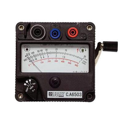 C.A 6503 - analogový měřič izolačního odporu