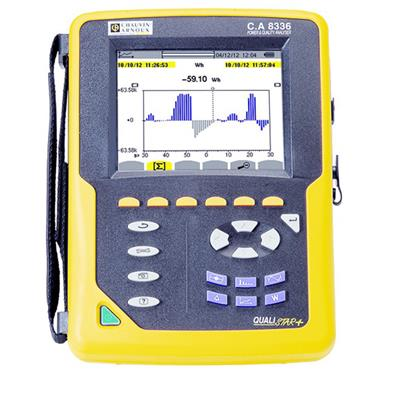 C.A 8336 - Třífázový analyzátor elektrických sítí