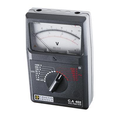 Analogový AC/DC voltmetr C.A 402