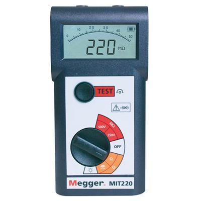 MIT 220  Megger