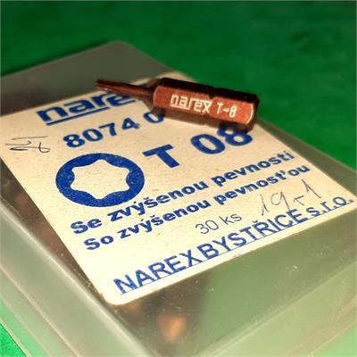 NAREX 807208 BIT torx 08