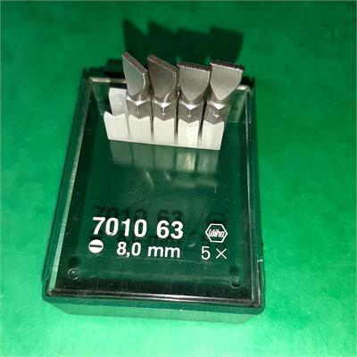 Wiha 701063 bit 8 mm plochý