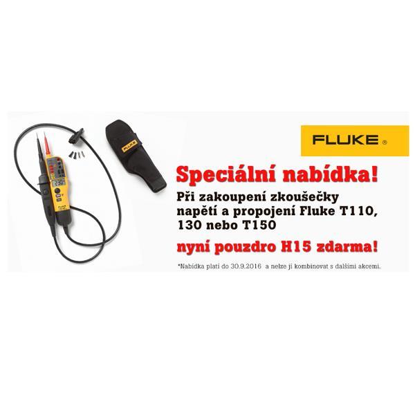 Zkoušečka FLUKE T150 + pouzdro H15 zdarma