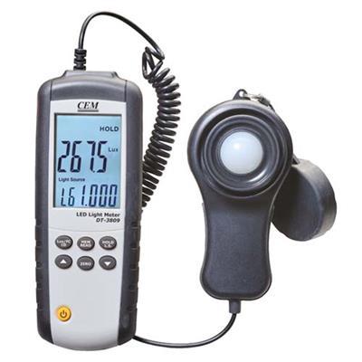 Luxmetr  CEM DT-3809