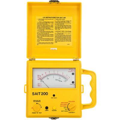 Měřič izolace SAIT 200