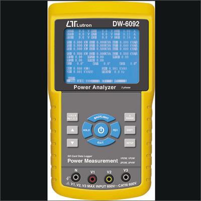Wattmetr a analyzátor LUTRON DW-6092