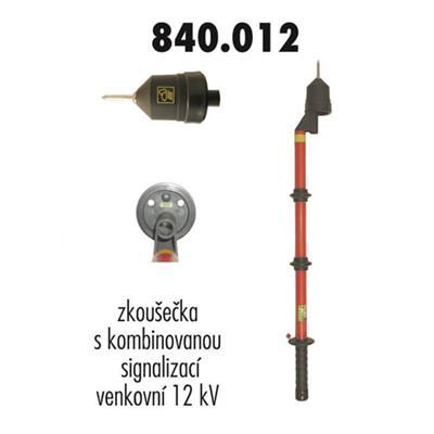Zkoušečka 12 kV venkovní kombinovaná signalizace