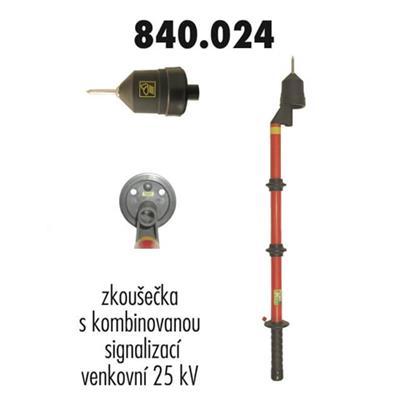 Zkoušečka 24 kV venkovní kombinovaná signalizace