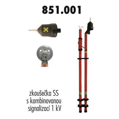 Zkoušečka s kombinovanou signalizací 1 kV
