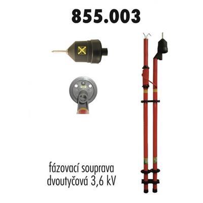 Fázovací souprava, VN 3,6 kV