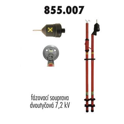 Fázovací souprava VN 7,2 kV