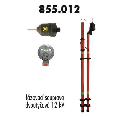 Fázovací souprava VN 12 kV