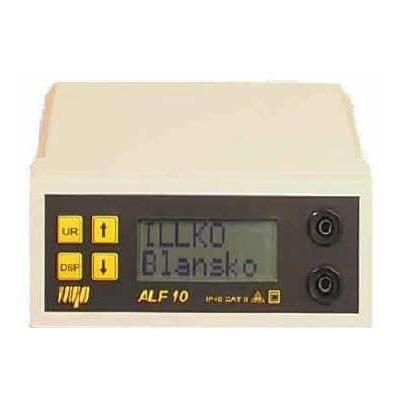ALF 10 přístroj pro měření malých odporů