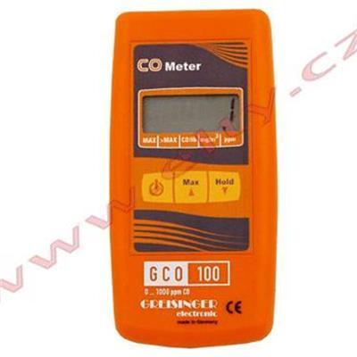Detektor oxidu uhelnatého GCO 100