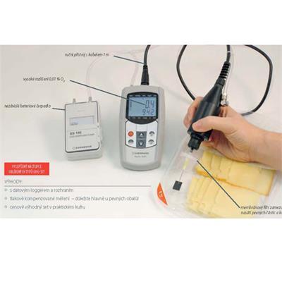 ResOx 5695-H, měření zbytkového kyslíku