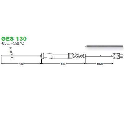 GES130 zapichovací snímač
