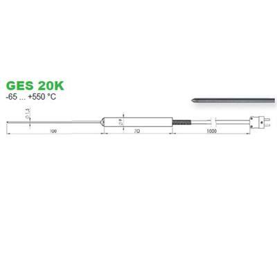 GES20K snímač teploty jádra