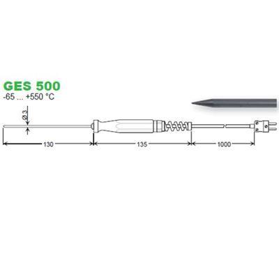 GES500 zapichovací snímač