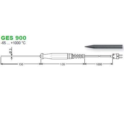 GES900 zapichovací snímač