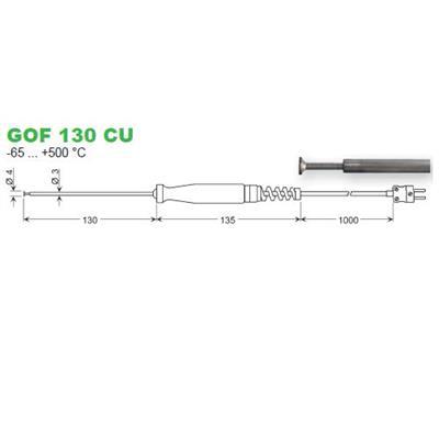 GOF 130CU povrchový snímač