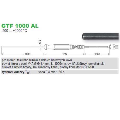 GTF 1000 AL  ponorný snímač