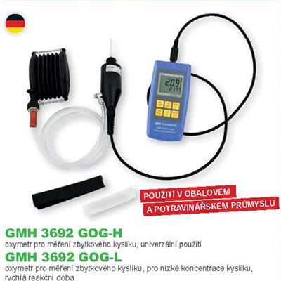 GMH 3692 GOG-L  měření zbytkového kyslíku
