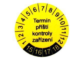 P 9080 - Samolepící štítek