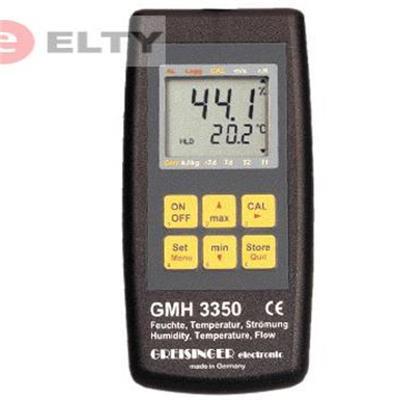 GMH 3350 měření vlhkosti vzduchu,teploty,průtoku