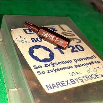 NAREX 807203 BIT torx 20