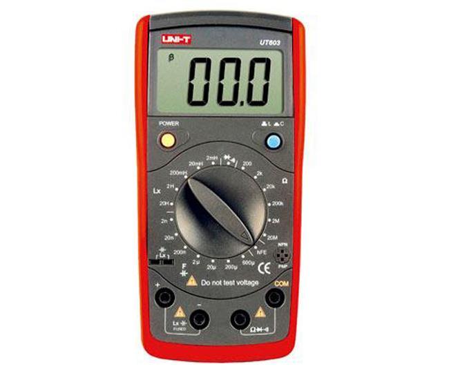 UT 603 LCRmetr