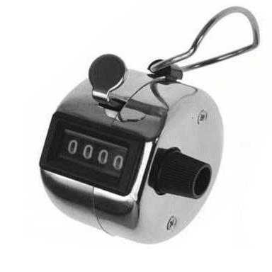 Mechanické počítadlo s nulováním (click counter)