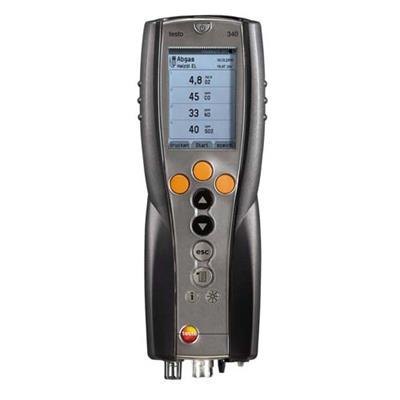 testo 340 - analyzátor spalin pro průmysl